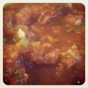 homemade salsa is the best kind, just sayin'...