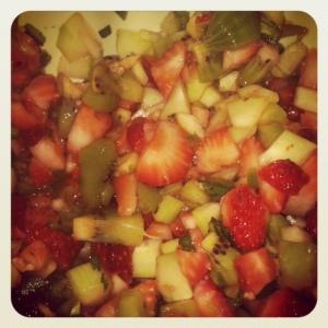 love fruity salsa!
