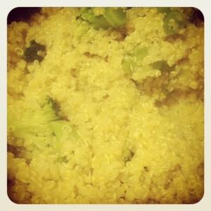 quinoa & broc