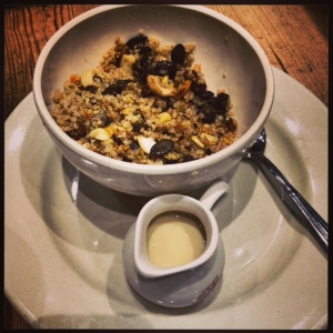 lpq's quinoa pear cereal