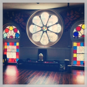 yoga studio: abc sanctuary